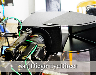 EyeDirect unit setup - San Diego