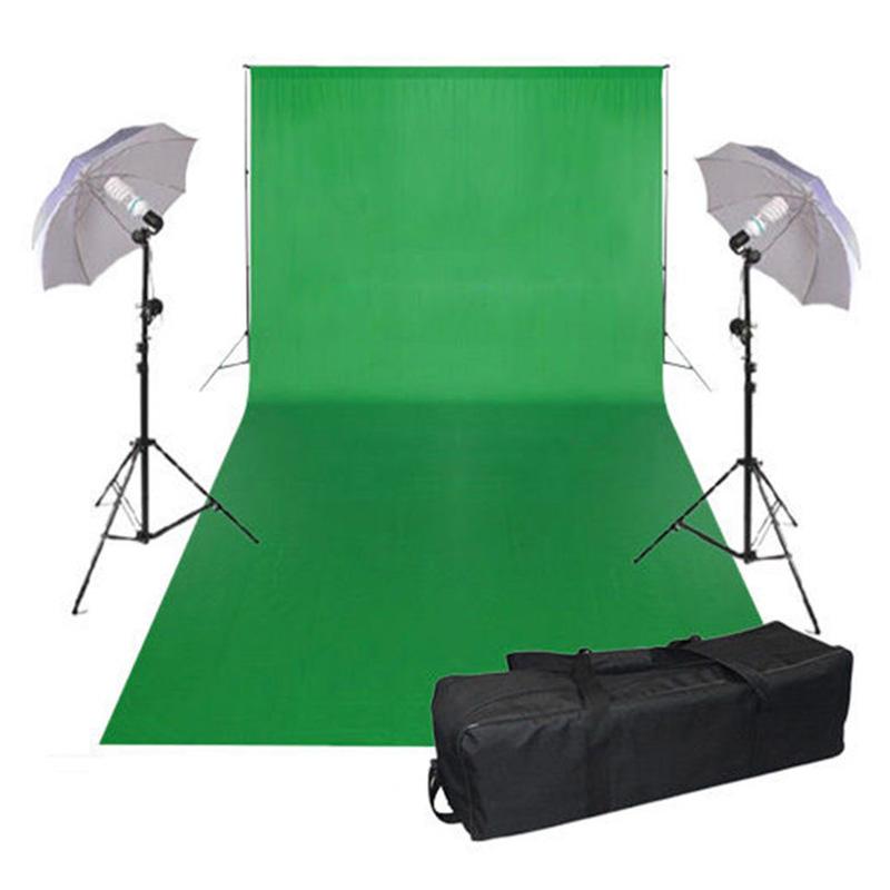 Studio Lighting Rental: 3x6m Studio Photography Chromakey Green Screen Background