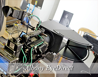 EyeDirect unit setup - Albany