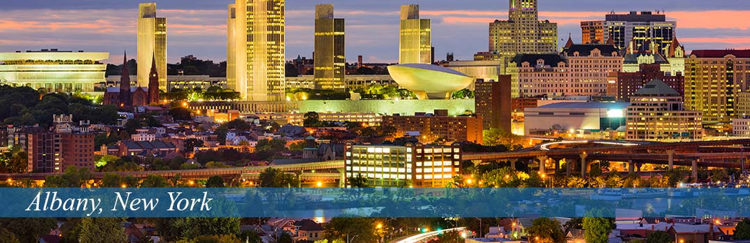 Albany, New York skyline