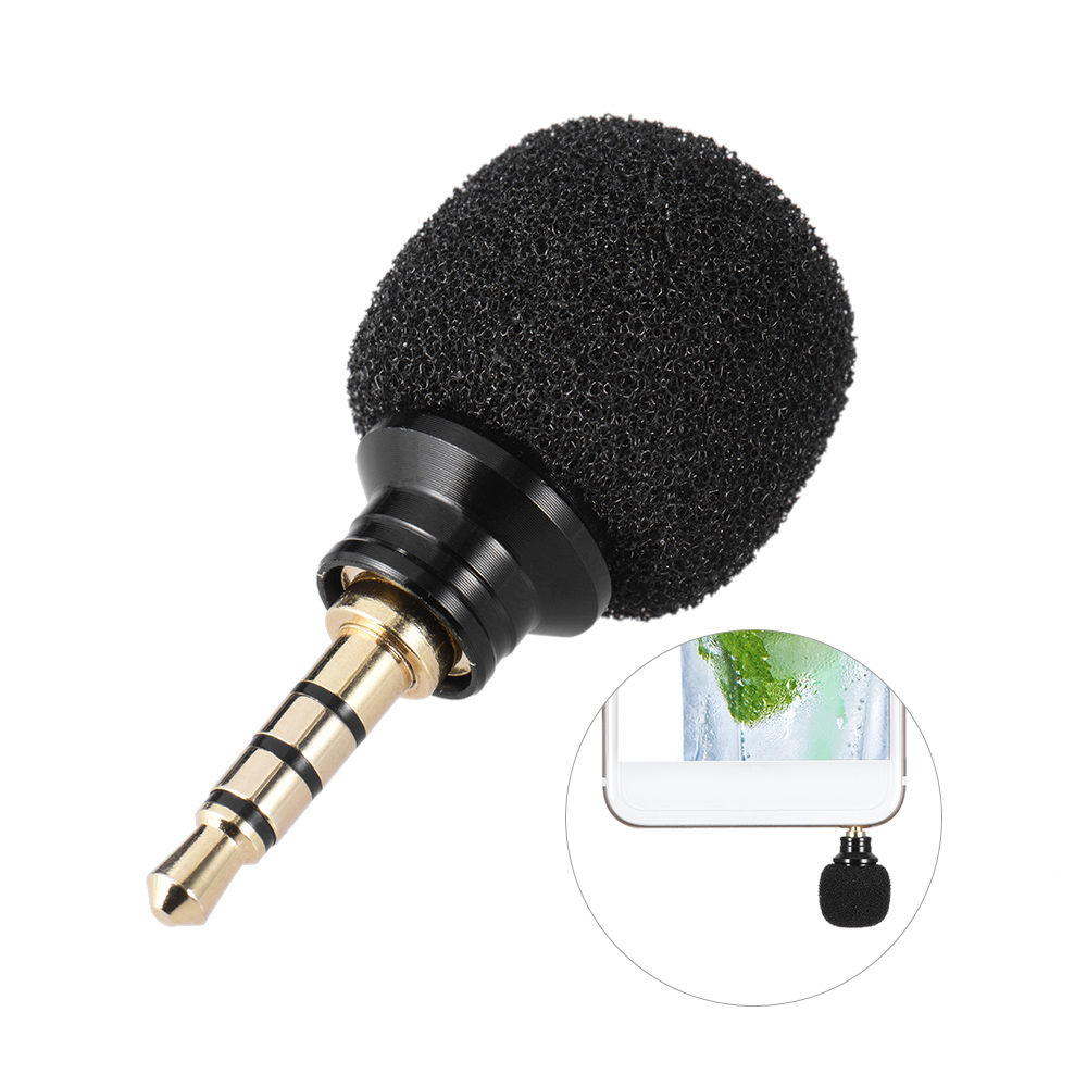 andoer cellphone smartphone portable mini omni directional mic microphone for recorder for ipad. Black Bedroom Furniture Sets. Home Design Ideas