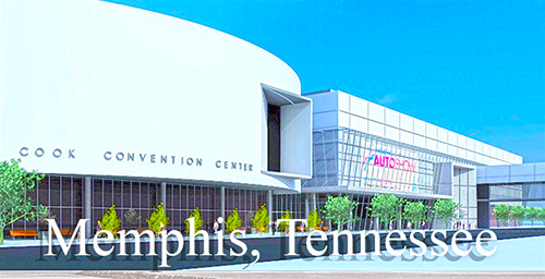 Memphis Convention Center - Cook building