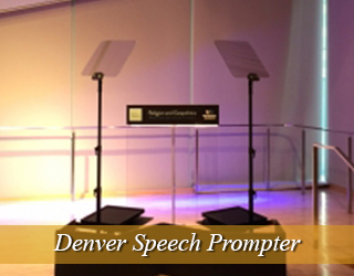 Denver Speech Unit and Podium