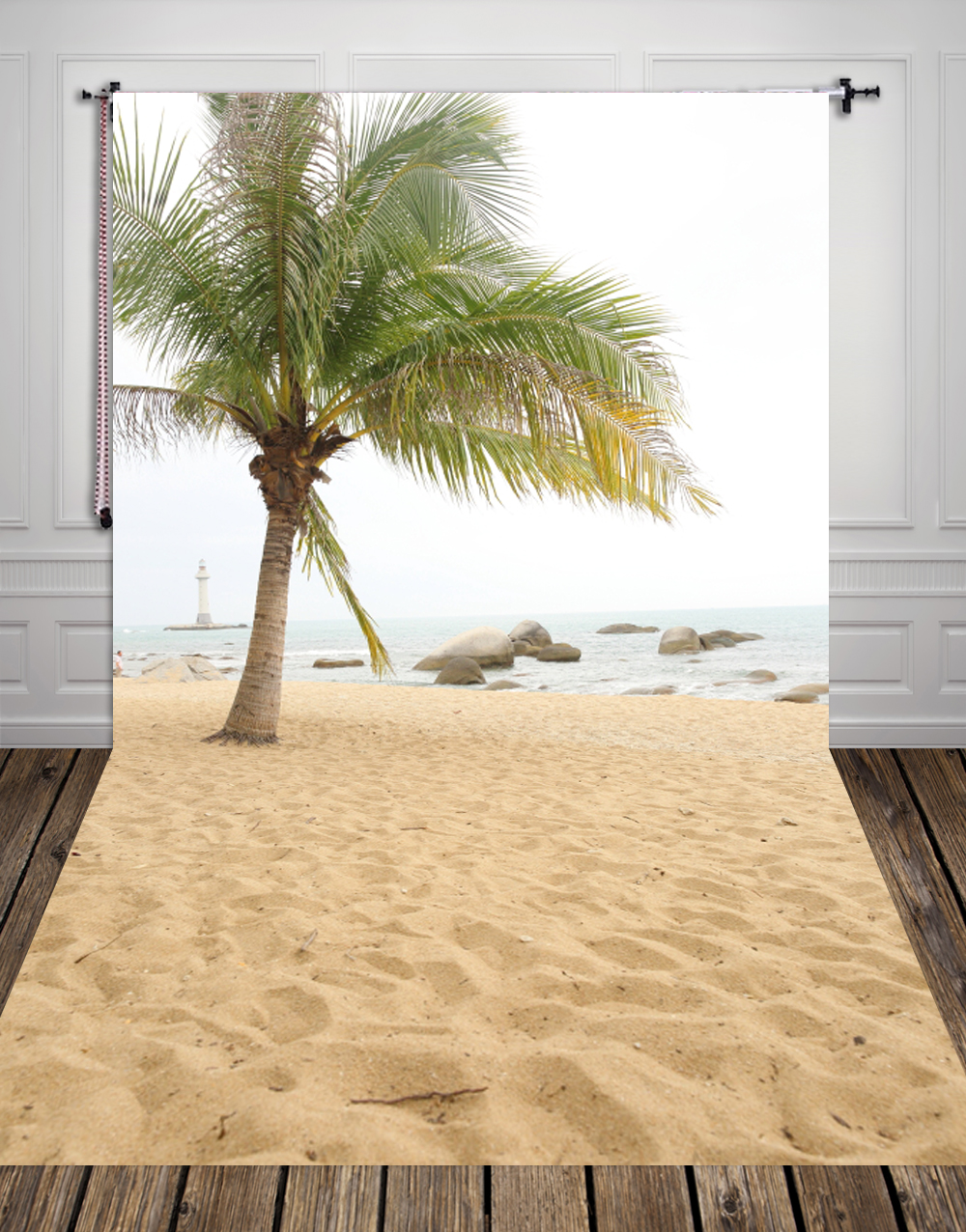 huayi summer photography backdrops sea beachphoto fabric for photo