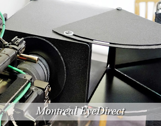 EyeDirect unit - Montreal