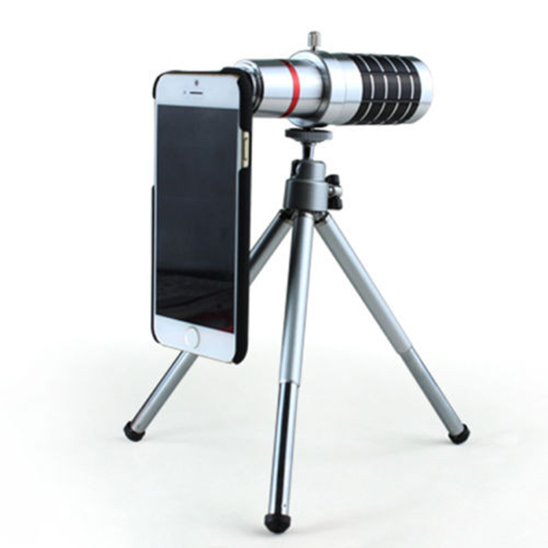 Orbmart 16x Optical Zoom Lens Camera Telescope With Mini Tripod For