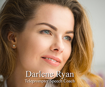 Darlene Ryan, Teleprompting Speech Coach - beautiful young woman