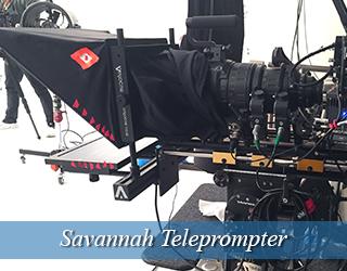 Teleprompter device - Savannah
