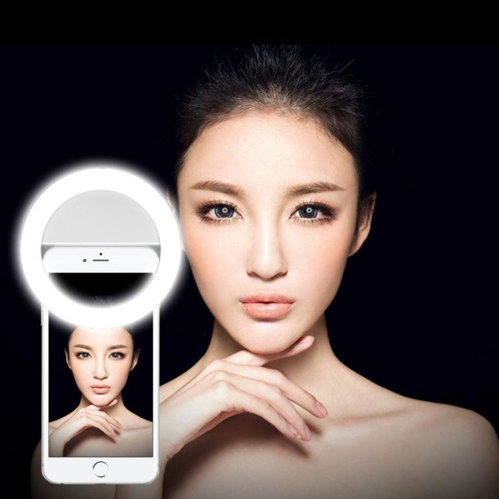 Selfie Portable Led Camera Phone Photography Ring Light