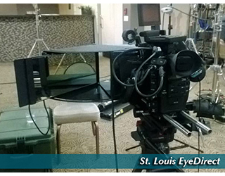EyeDirect set up in studio - St. Louis