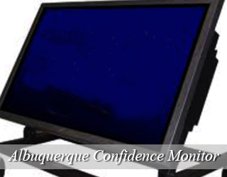 Confidence Monitor - blank screen - Albuquerque
