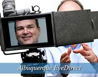 EyeDirect - man seen on screen - Albuquerque