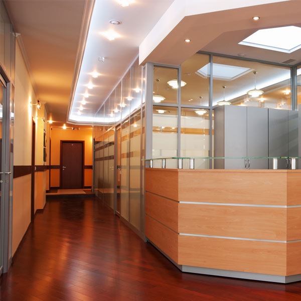 Office interior - great hallway