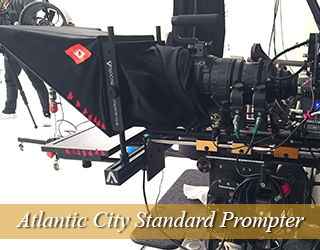 Standard Teleprompter setup - Atlantic City