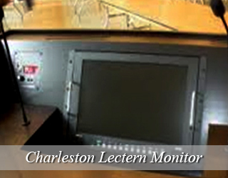 Lectern Monitor on Podium - Charleston