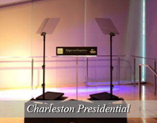 Presidential Teleprompter and Podium - Charleston