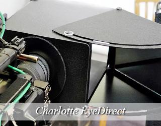 EyeDirect set up - Charlotte