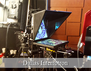 Interrotron unit on set - Dallas
