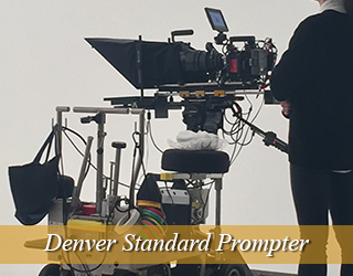 Standard Prompter with operator on the right - Denver
