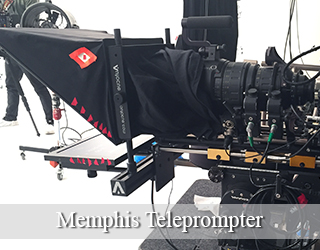 Teleprompter setup - Memphis