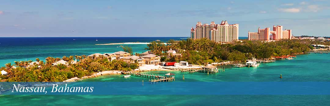 Nassau, Bahamas - city and ocean