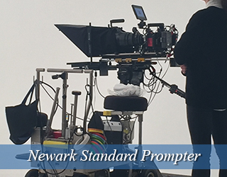Standard Prompter - Operator in black to the right - Newark