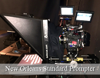 New Orleans Standard Prompter unit setup
