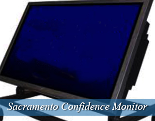 Confidence Monitor - blank screen - Sacramento