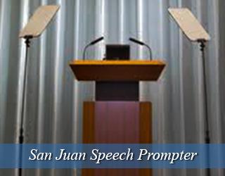Glass Panel Unit-speech prompter