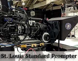 Standard Prompter on set - St. Louis