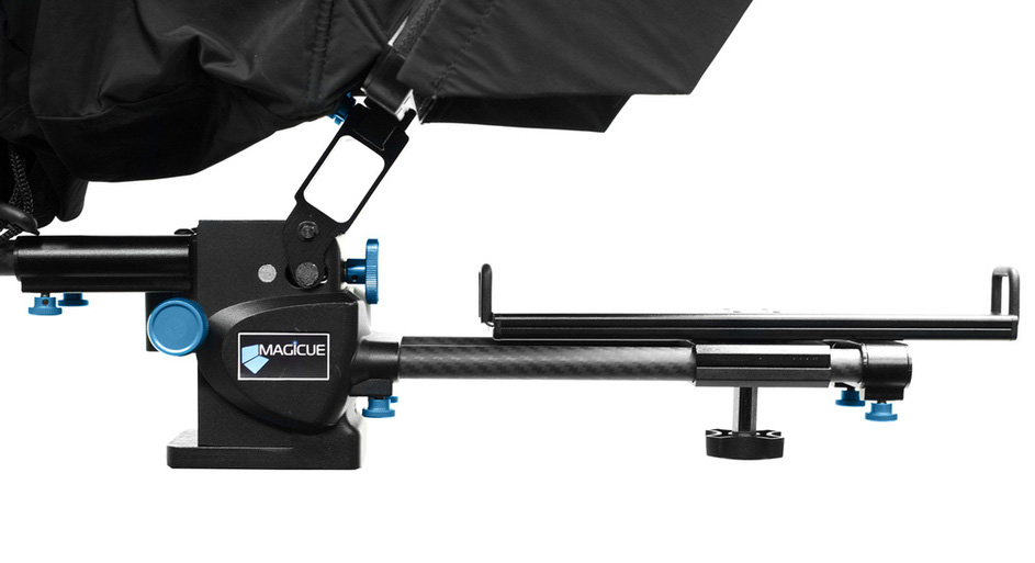MagiCue-Side-View-of-iPad-Prompter without iPad