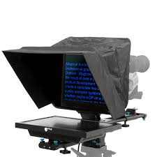 "MagiCue Studio Teleprompter 19"" . 3/4 front view"