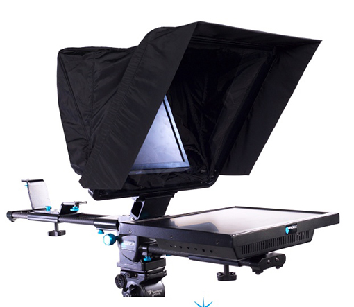 Teleprompter 3.4 view with monitor no camera no copy