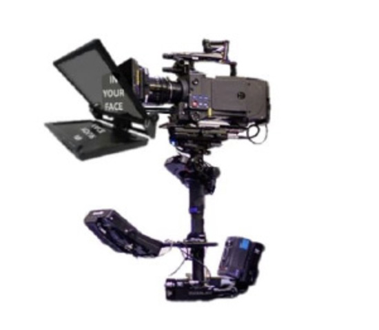 SteadiCam Prompter TeleprompterRental.com
