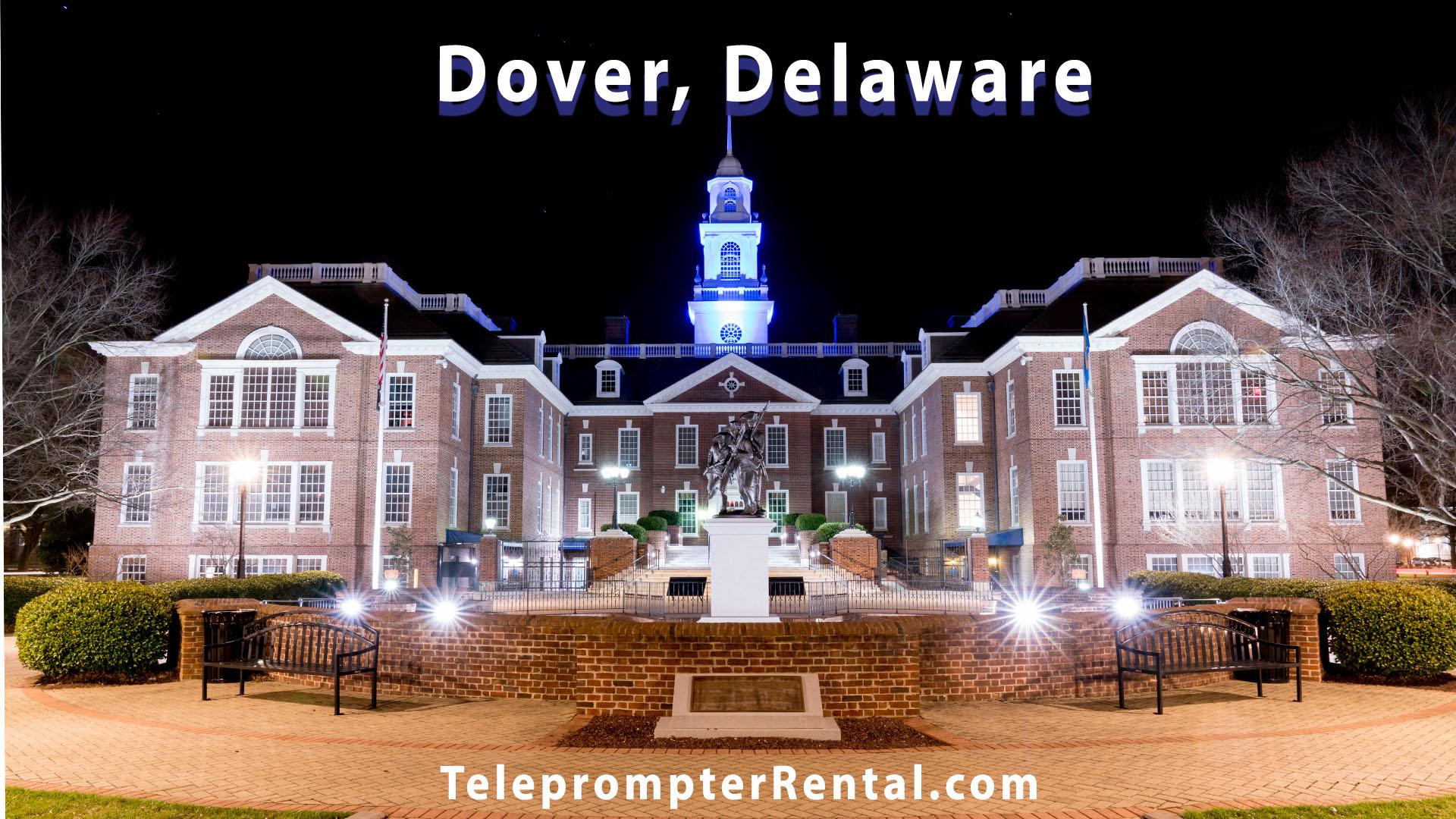 Dover Delaware - Teleprompter Rental