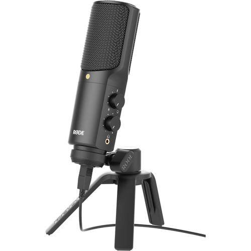 Rhode Condenser Microphone Foe Webcam Teleprompter