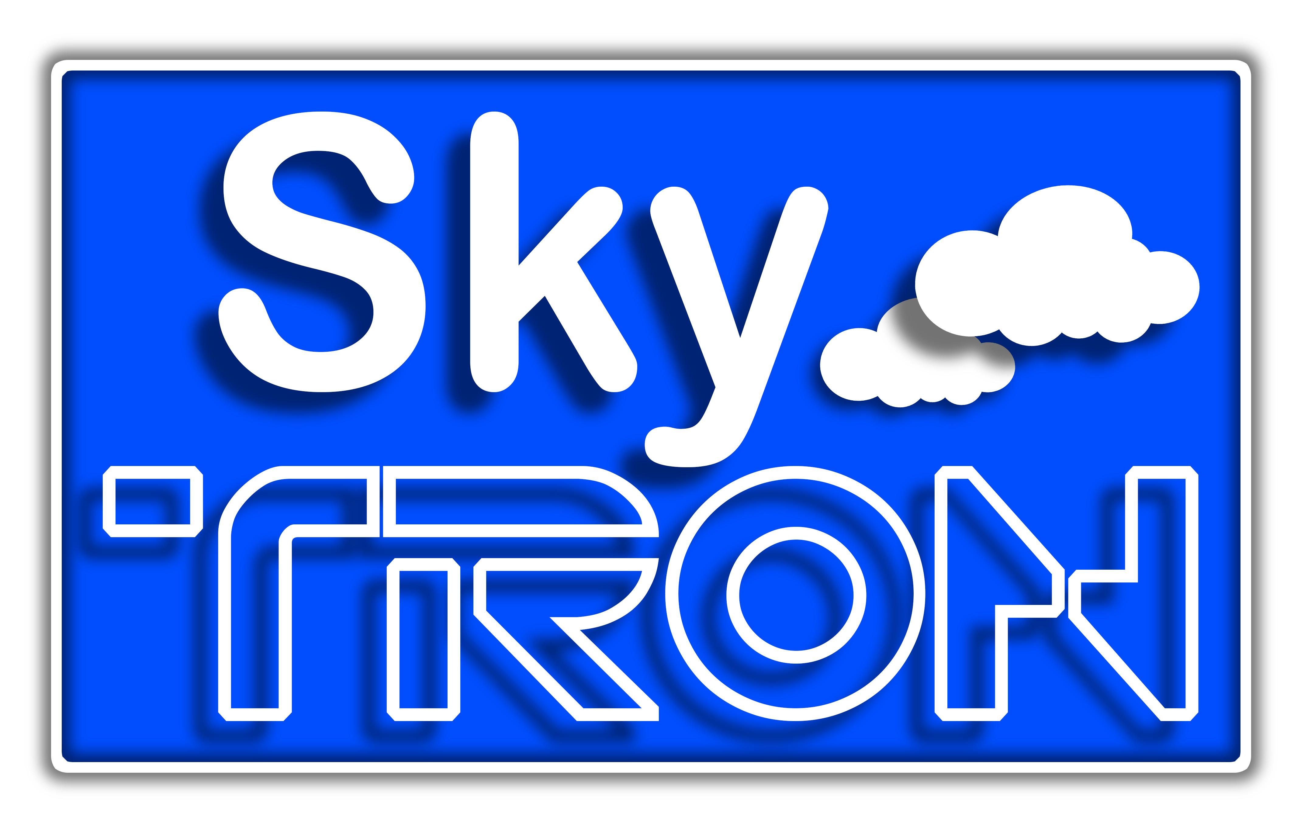 Skytronn. Interrotron at a distanve Logo