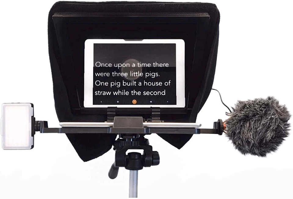 Zoom iPad Teleprompter Rental